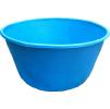 Купель пластиковая круглая большая. Цвет: Синий