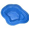 Декоративный цветной пластиковый садовый пруд 190л. Цвет: Синий