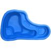 Декоративный цветной пластиковый садовый пруд 150л. Цвет: Синий