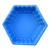 """Клумба садовая пластиковая """"Ромб"""" большой 210л. Цвет: Синий"""