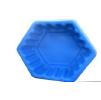 "Клумба пластиковая ""Ромб"" малый 50л. Цвет: Синий"