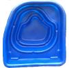 Декоративный пластиковый садовый пруд 180л. Цвет: Синий.