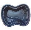 Декоративный пластиковый садовый пруд 500/2л. Цвет: Черный