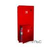 Шкаф для пожарного крана ШПК-320 встроенный закрытый красный/белый (место для двух огнетушителей 10 кг ) 540 х 1300 х 230 мм