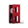 Шкаф для пожарного крана ШПК-320 навесной с окном красный/белый (место для двух огнетушителей 10 кг) 540 х 1300 х 230 мм
