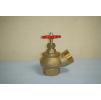 Клапан пожарный КПЛ 50-1, Д=51 мм, латунь (угловой, 125 гр.) муфта