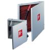 Шкаф для пожарного крана квартирный закрытый белый навесной 300 х 300 х 50 мм