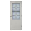 Двери дерево-алюминиевые EDUX HDF-pintaiset: Lumikki 900 х 2100 мм