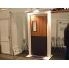 Двери мод. MUH маятниковые двери с регулируемой алюм. или стеклопластиковой коробкой (MUOVIUS OY) 800 х 2100 мм