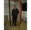Двери мод. MUH маятниковые двери с регулируемой алюм. или стеклопластиковой коробкой (MUOVIUS OY) 1200 х 2100 мм