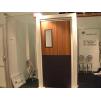 Двери мод. MUH маятниковые двери с регулируемой алюм. или стеклопластиковой коробкой (MUOVIUS OY) 1500 х 2100 мм