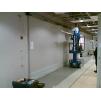 Двери мод. MUKLI раздвижные для помещений с повышенной влажностью и повышенной гигиеной с регулируемой алюм. или стеклопластиковой коробкой (MUOVIUS OY) 1200 х 2100 мм