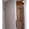 Двери мод. VE для помещений с очень повышенной влажностью и повышенной гигиеной с регулируемой алюм.коробкой (MUOVIUS OY) 1000 х 2100 мм