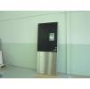 Двери мод. MUK рентгенозащитные экв. Pb = 2,0 мм для помещений с повышенной влажностью и повышенной гигиеной с регулируемой алюм.коробкой (MUOVIUS OY) 900 х 2100 мм
