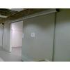 Двери мод. MUKLI раздвижные рентгенозащитные экв. Pb = 1,0 мм для помещений с повышенной влажностью и повышенной гигиеной с регулируемой алюм.коробкой (MUOVIUS OY) 800 х 2100 мм