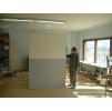 Двери мод. MUKLI раздвижные рентгенозащитные экв. Pb = 1,0 мм для помещений с повышенной влажностью и повышенной гигиеной с регулируемой алюм.коробкой (MUOVIUS OY) 1500 х 2100 мм