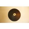 Шлифовальная резиновая насадка D-125 мм.с хвос.D-8мм. для шкурок на липучке