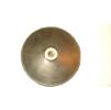 Шлифовальная резиновая насадка D-150 мм.с втулкой М-14 для шкурок на липучке