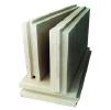 Пазогребневые плиты Кнауф(ПГПВ) гипсовые, влагостойкие. Для возведения перегородок, лёгких стен. 500х667х80.