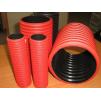 Труба для кабеля гофрированная ЖЁСТКАЯ d110мм Kopodour c муфтой и зондом для протяжки кабеля