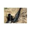 Труба дренажная двухстенная гофрированная в фильтре геотекстиль d110 мм