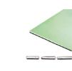Гипсокартон влагостойкий Кнауф, ГКЛВ 2500х1200х9,5 мм (68шт/уп)