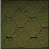 Черепица Икопал Natur зеленый (3 кв.м/уп) шестигранник без тени