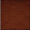 Черепица Икопал Natur красный (3 кв.м/уп) шестигранник без тени