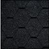Черепица Икопал Natur графитно- черный (3 кв.м/уп) шестигранник без тени