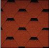 Черепица Икопал Tema кирпично-красный (3 кв.м/уп) шестигранник с тенью