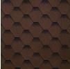 Гибкая черепица Шинглас, Самба коричневый (3 кв.м/уп)