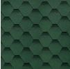 Гибкая черепица Шинглас, Самба зеленый (3 кв.м/уп)