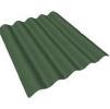 Кровельный волнистый лист, ондулин 2000х950 мм, зеленый (в комплекте 20 гвоздей)