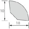 Угол внутренний вспененный округлый