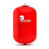 Мембранный бак для отопления вертикальный Wester WRV 18