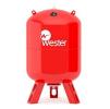 Мембранный бак для отопления вертикальный Wester WRV 200(top)
