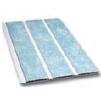 Вагонка пластиковая трехсекционная голубая 241 альтапрофиль 3,0х0,24м