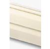 Виниловый сайдинг альта-профиль кремовый, стандартная коллекция, двухпереломная 3,66х0,23х1,2мм