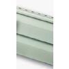 Виниловый сайдинг альта-профиль, серо-зеленый, стандартная коллекция, двухпереломная 3,66х0,23х1,2мм