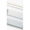 Сайдинг виниловый белый альта -профиль (стандартная коллекция), двухпереломная 3,66х0,23х1,2мм