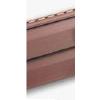 Сайдинг виниловый красно-коричневый Альта-Профиль