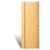 Вертикальный сайдинг виниловый золотистый