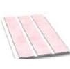 Вагонка пластиковая цена трехсекционная 241 3,0х0,24м розовая