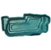 Декоративный цветной пластиковый садовый пруд 4800л. Цвет: Зеленый.