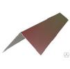 Конек кровельный прямоугольный, оцинкованная сталь 0,5 мм с полимерным покрытием RAL
