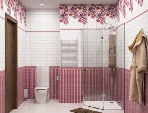 Панели пвх с 3d рисунком UNIQUE коллекция Цветочный рай