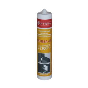 Огнезащитный герметик для деформационных (конструкционных) швов ОГНЕЗА-ГТ (310 мл) серый