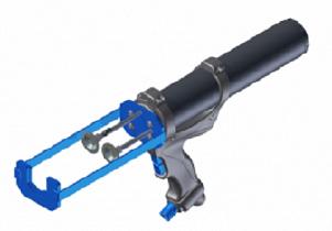 Пневматический пистолет для двухкомпонентных картриджей RBA 310B