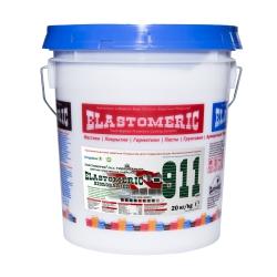 Эластомерик 911 Гидробарьер RAL 9003 сигнально белый (20 кг) Однокомпонентное эластичное цветное покрытие для гидроизоляции и окраски металлических и шиферных крыш