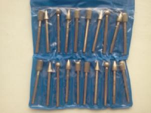 Изготовление алмазных и эльборовых головок диам. от 0,5 мм (цены договорная)